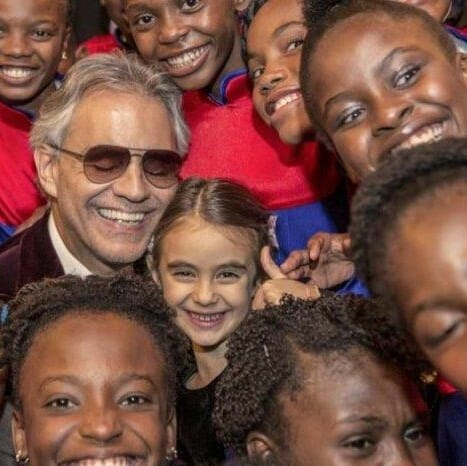 Voices of Haiti Children with Andrea Bocelli