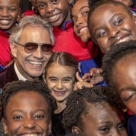 Voices of Haiti Children with Andrea Bocelli