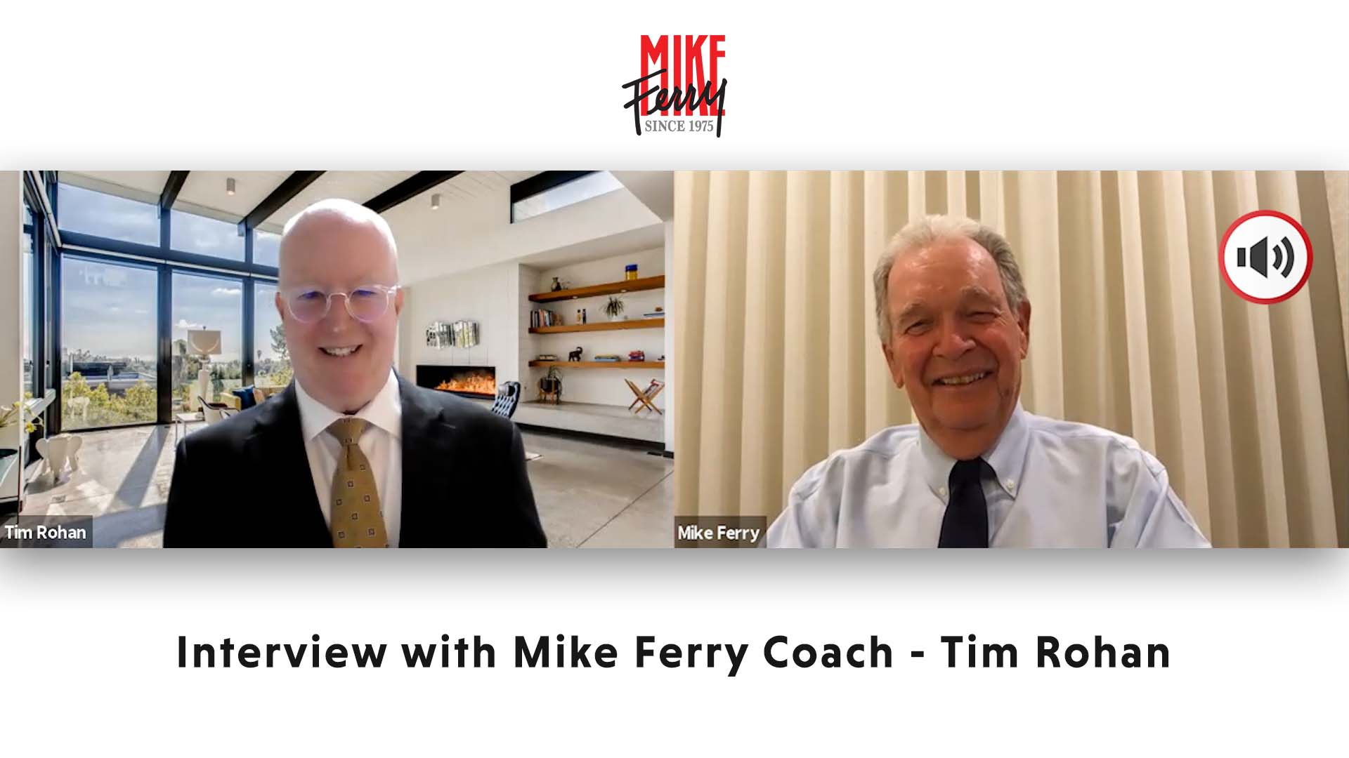 Interview with Mike Ferry Coach – Tim Rohan